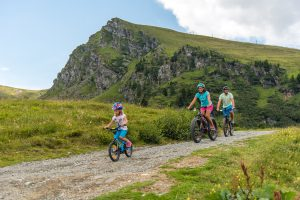 Mountainbiking am Falkertspitz