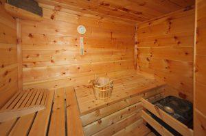 Sauna und Dampfbad in der Falkert-Huette